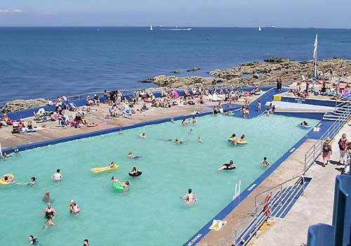 Shoalstone Pool is a sea-water swimming pool or lido on Shoalstone Beach, Brixham