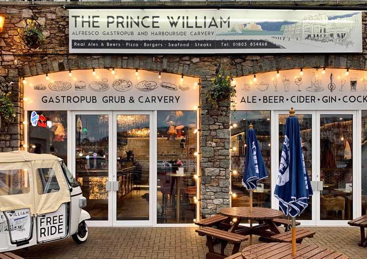 Prince William Pub Torbay